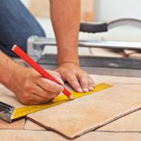Tile installation | Lake Forest Flooring