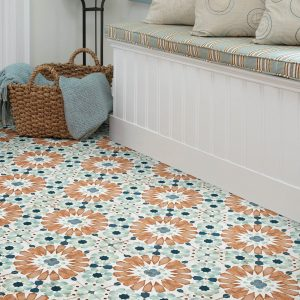 Islander Deco Tile Flooring garden way | Lake Forest Flooring