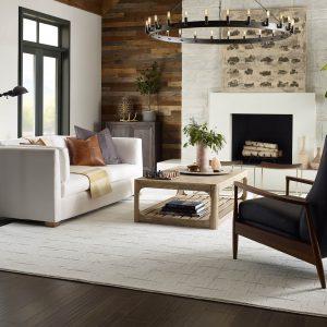 Windsurf Rustique Vibe living room | Lake Forest Flooring
