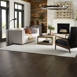Windsurf Rustique Vibe living room | Lake Forest Flooring