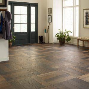 Old world herringbon hanover flooring | Lake Forest Flooring