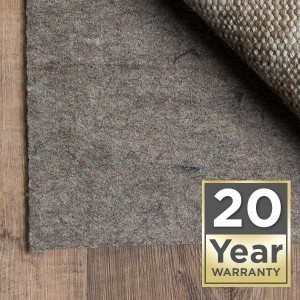 20 year warranty Area Rug pads | Lake Forest Flooring