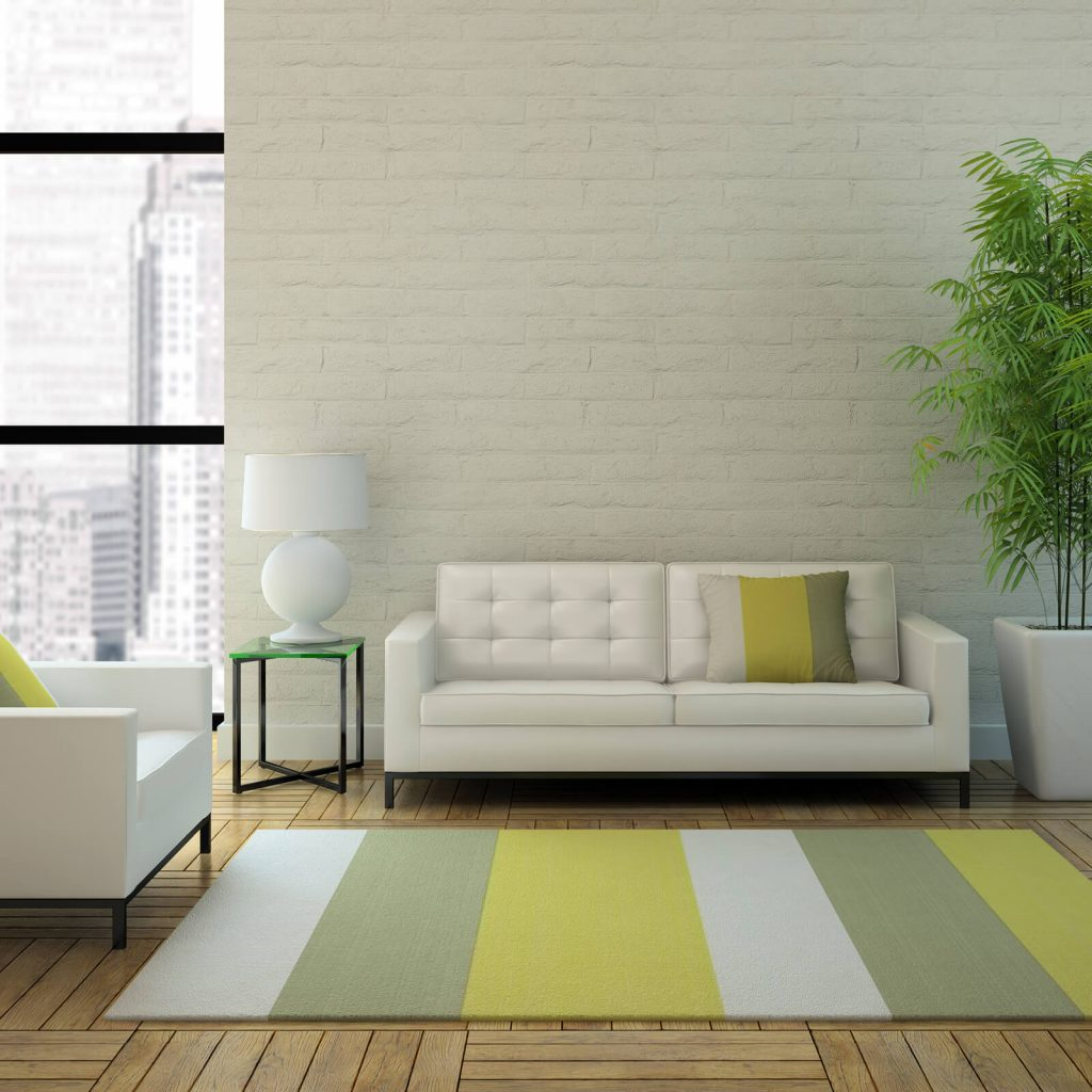Stripped Area Rug | Lake Forest Flooring