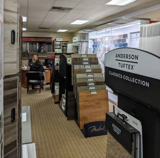 Showroom in Greenville, SC | Lake Forest Flooring