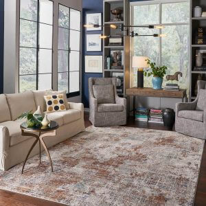 Living room area rug | Lake Forest Flooring